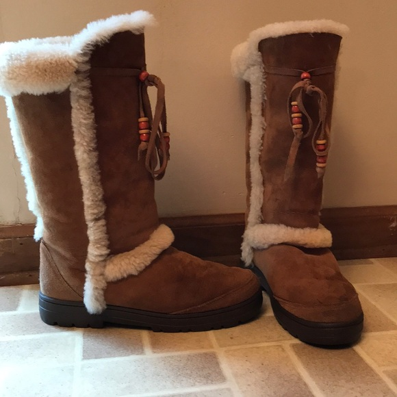 32664aed70f Tall warm winter boots with thicker soles